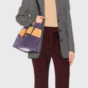 boyy – Devon Suede Viola Handbag