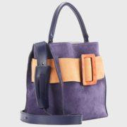 boyy – Devon Suede Viola Handbag (4)
