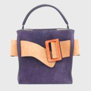 boyy – Devon Suede Viola Handbag (5)