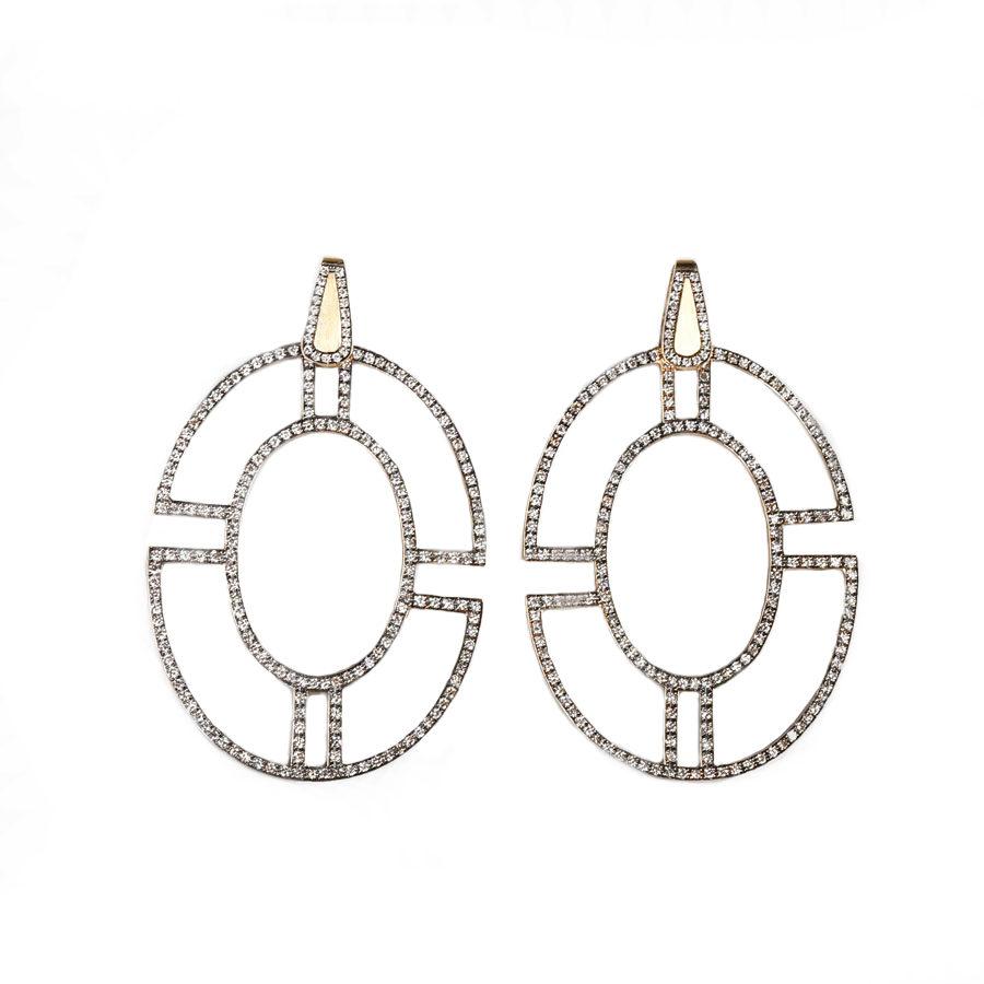 Polina Ellis Byzantium Earrings