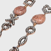 dolly Boucoyannis – Golden Pebble and Diamond Earrings (2)