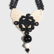 Maria mastori Cotton Chaolites Necklace (2)