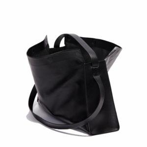 Aesther Ekme Duffel Jet Black Tote Bag