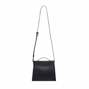 Aesther Ekme Mini Triangle Tote Jet Black Bag