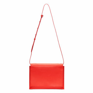 Aesther Ekme Electric Red Clutch Bag