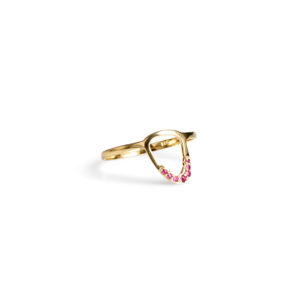 Christana Kafa Eye Shaped Ring