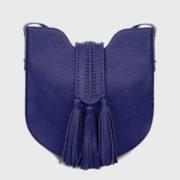 Grace World - Bohbo Midi Hobo Leather Midnight Blue Bag (2)
