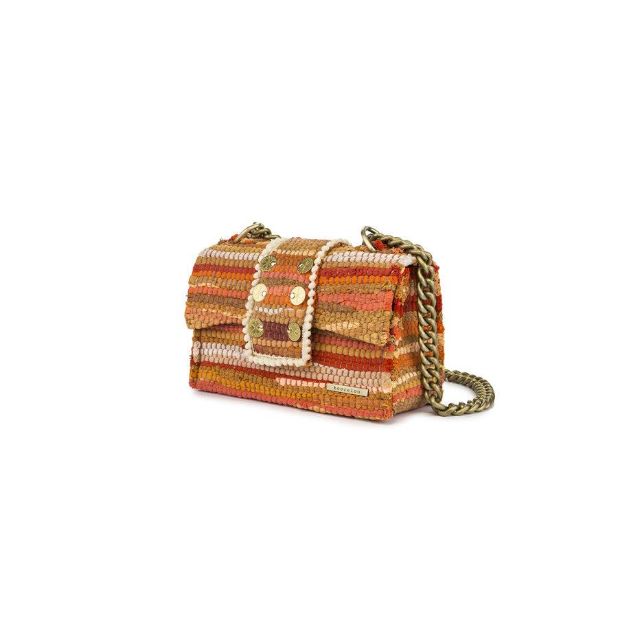 Kooleroo New Yorker Soho Fabric Orange Shoulder Bag