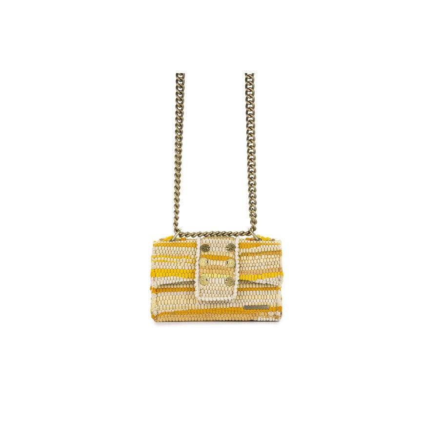 e2e71c1e1e6 New Yorker Soho Fabric Yellow Shoulder Bag - i-D Concept Stores