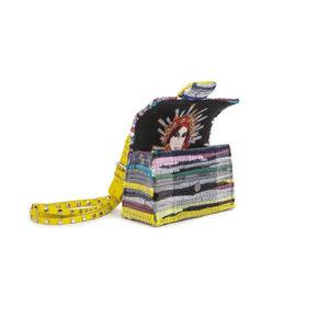 ... Kooreloo New Yorker Soho Multi studs Yellow Shoulder Bag b8398bf52c