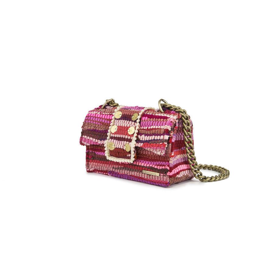 New Yorker Soho Fabric Fuchsia Shoulder Bag 1