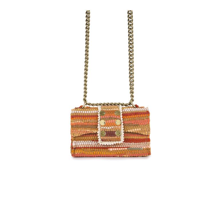 New Yorker Soho Fabric Orange Shoulder Bag 3