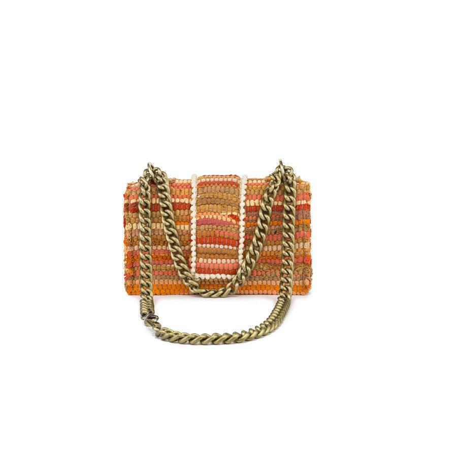 New Yorker Soho Fabric Orange Shoulder Bag 4