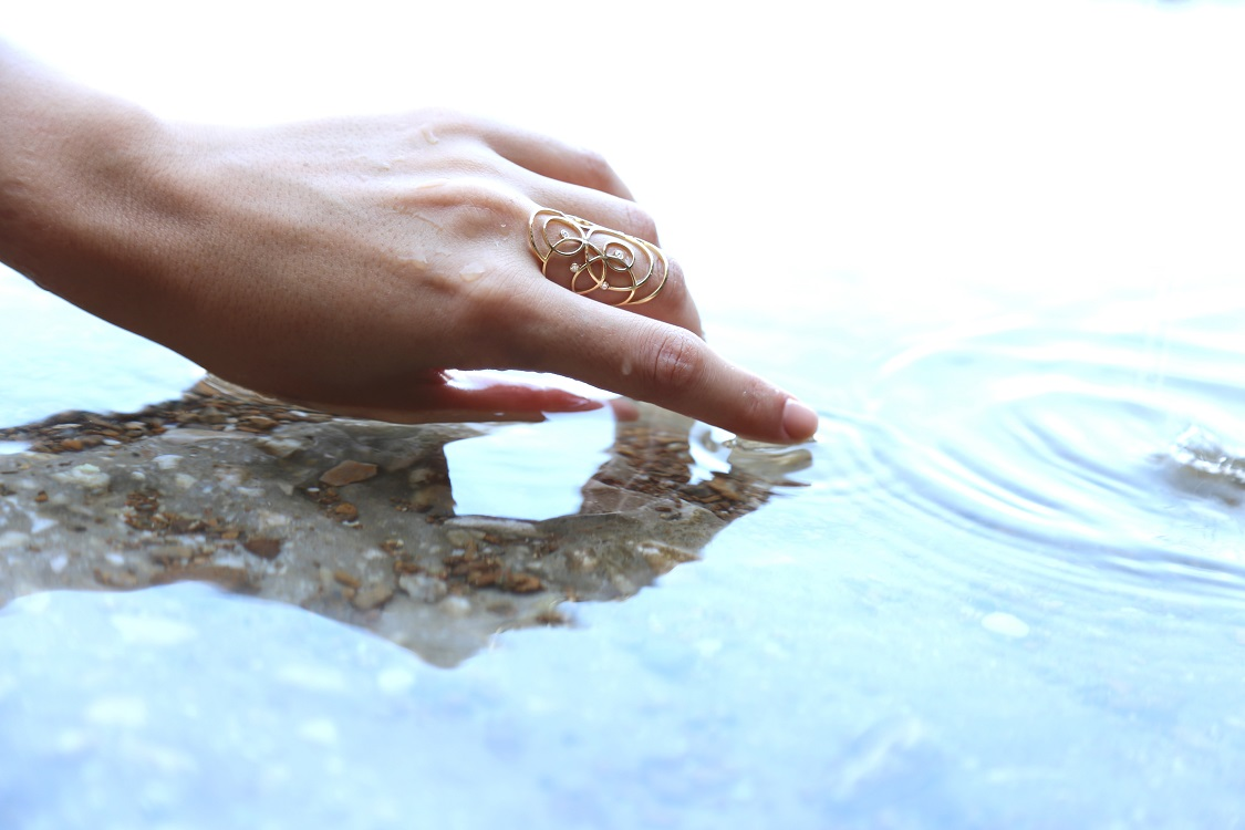 Spread Ring Full Photo Shooting Rallou Jewelry