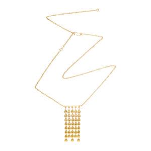 Sophia Kokosalaki Ekavi Handcrafted Adjustable Chain Necklace
