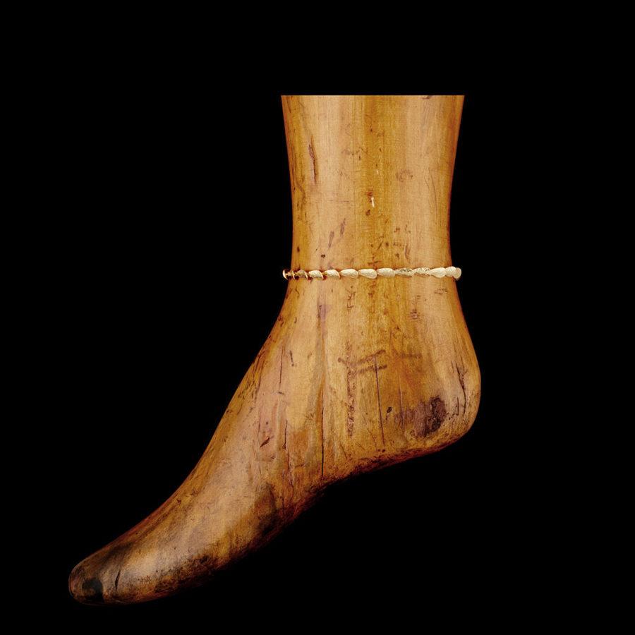 Sophia Kokosalaki Mytilus Handcrafted Articulated Mussel Anklet