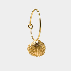 Danai Giannelli BY THE SEA Clam Single Earring