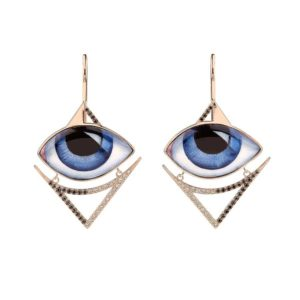 Lito Grand Bleu Pair of Earrings E-L-461