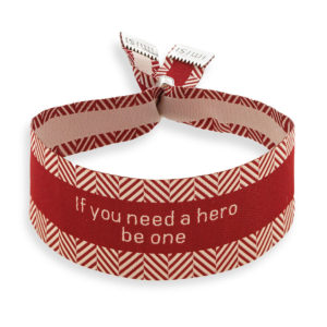 Imisi If you need to be a hero be one bracelet