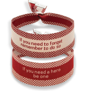 Imisi If you need to forget or be a hero bracelets