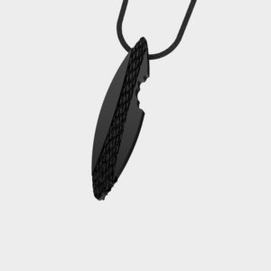 Marina Vernicos Black Plated Surf Necklace