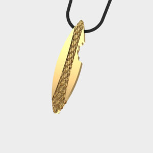 Marina Vernicos Gold Plated Surf Necklace