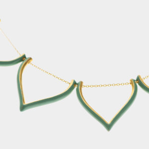Maggoosh Mint Unicorn Tears Necklace