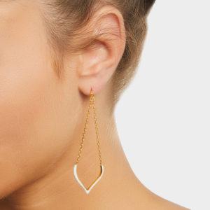 Maggoosh Lotus Love Large Earrings