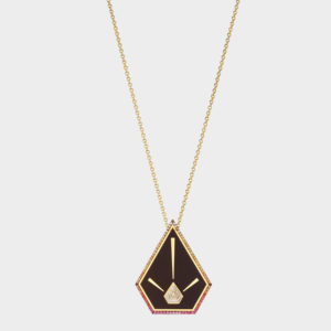 Elé Karela Blaze Pyramid Pendant