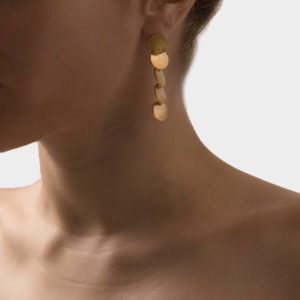 Maggoosh Flip A Coin Short Earrings