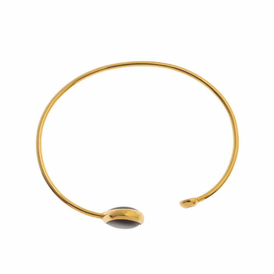 Dolly Boucoyannis Gold Pebble Bracelet DBB16