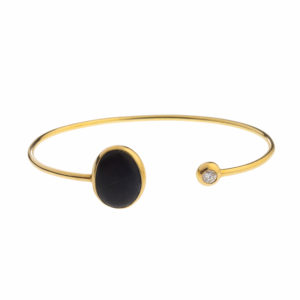 Dolly Boucoyannis Gold Pebble Bracelet DBB16
