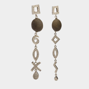 Dolly Boucoyannis White Gold and Diamonds Earrings DBE31 2