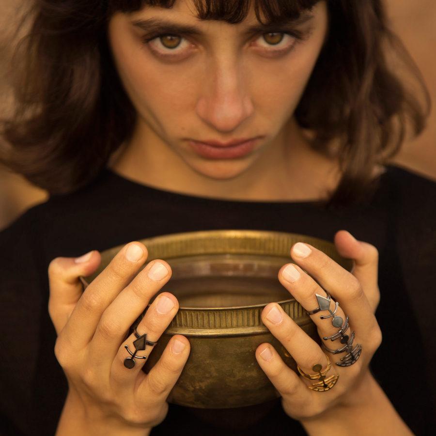 MYSTiS by Sofia Zarari Akhenaten Ring