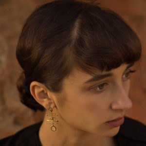 MYSTiS by Sofia Zarari Neilos Femininity Single Stud Earring