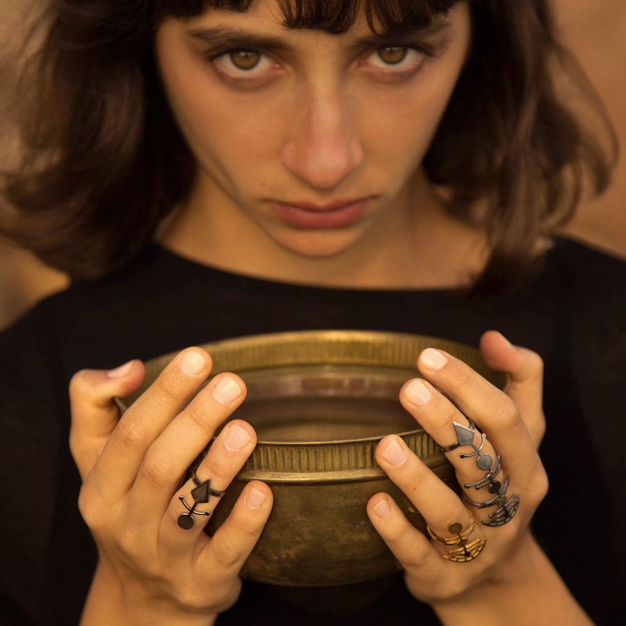 MYSTiS by Sofia Zarari Arrow Ring