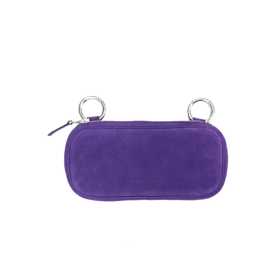 Simon MillerLong Pop Suede Royal Purple Pouch