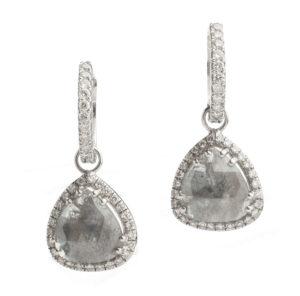 Dolly Boucoyannis Diamond Motif Golden Earrings DBE23