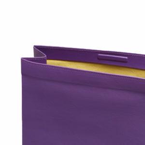 Simon Miller Lunchbag 20 and 30 cm Royal Purple Detail