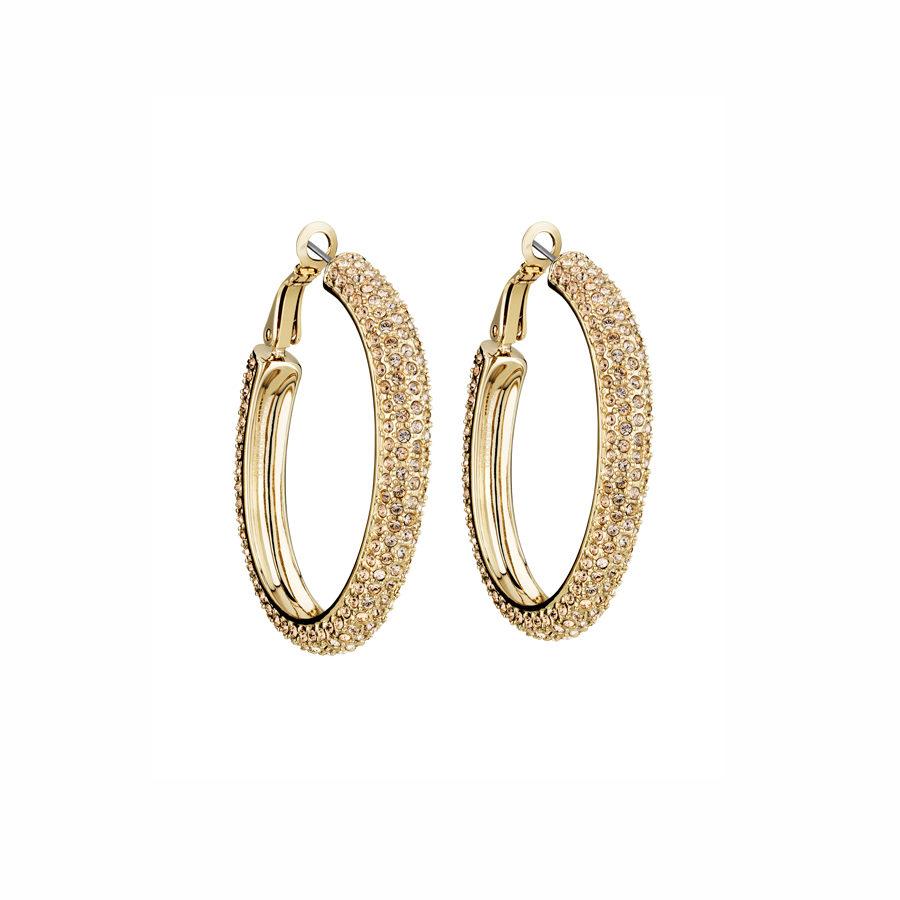 ce13326123c4 Golden Shadow Calypso Hoop Earrings - i-D Concept Stores