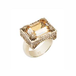 Golden Shadow Calypso Ring