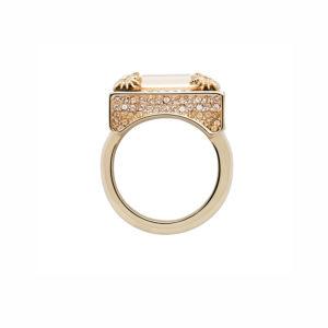 Atelier Swarovski Golden Shadow Calypso Ring