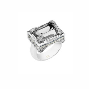 Atelier Swarovski Black Diamond Calypso Ring