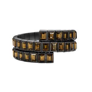 Atelier Swarovski Smoky Quartz Wrap Bracelet