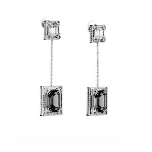 Atelier Swarovski Black Diamond Calypso Drop Earrings