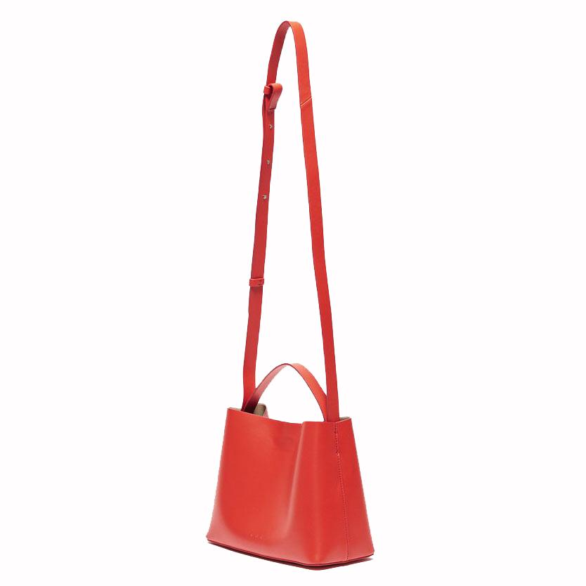 Aesther Ekme Mini Sac Electric Red Tote Bag