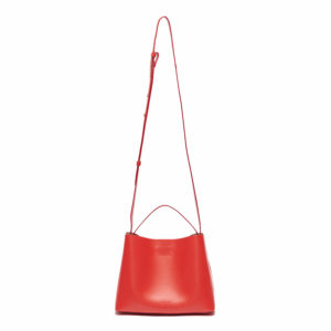 Aesther Ekme Mini Sac Electric Red Tote Bag