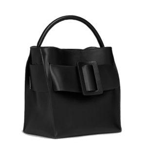 Boyy Devon Black Leather Handbag