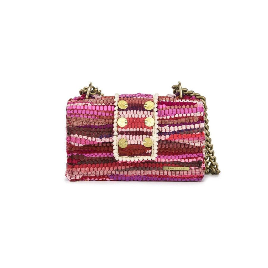 Kooreloo Kooreloo New Yorker Soho Fabric Rose Shoulder Bag