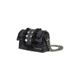 Kooreloo Hollywood Babe Starry Night Black Shoulder Bag